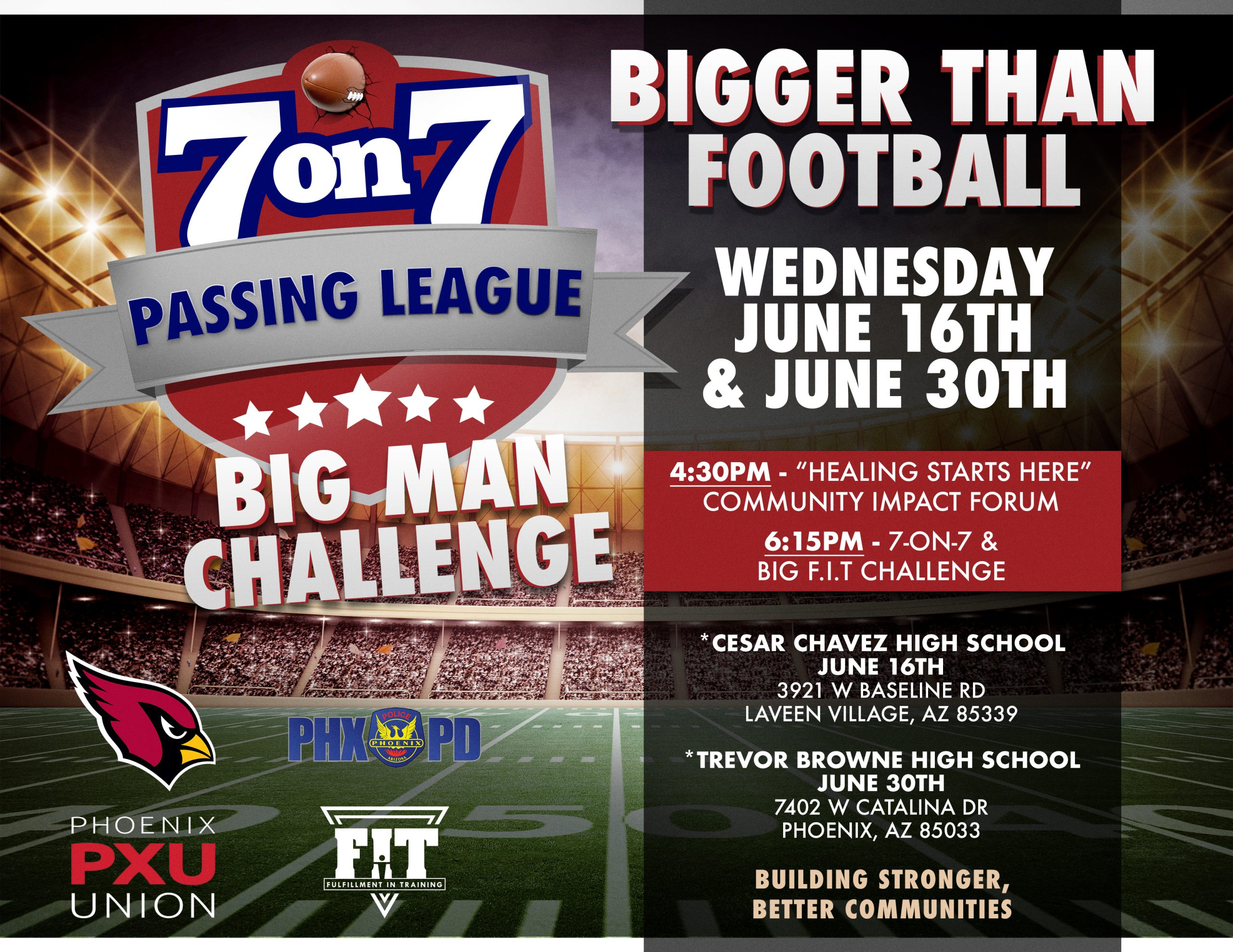 7 on 7 Passing League
