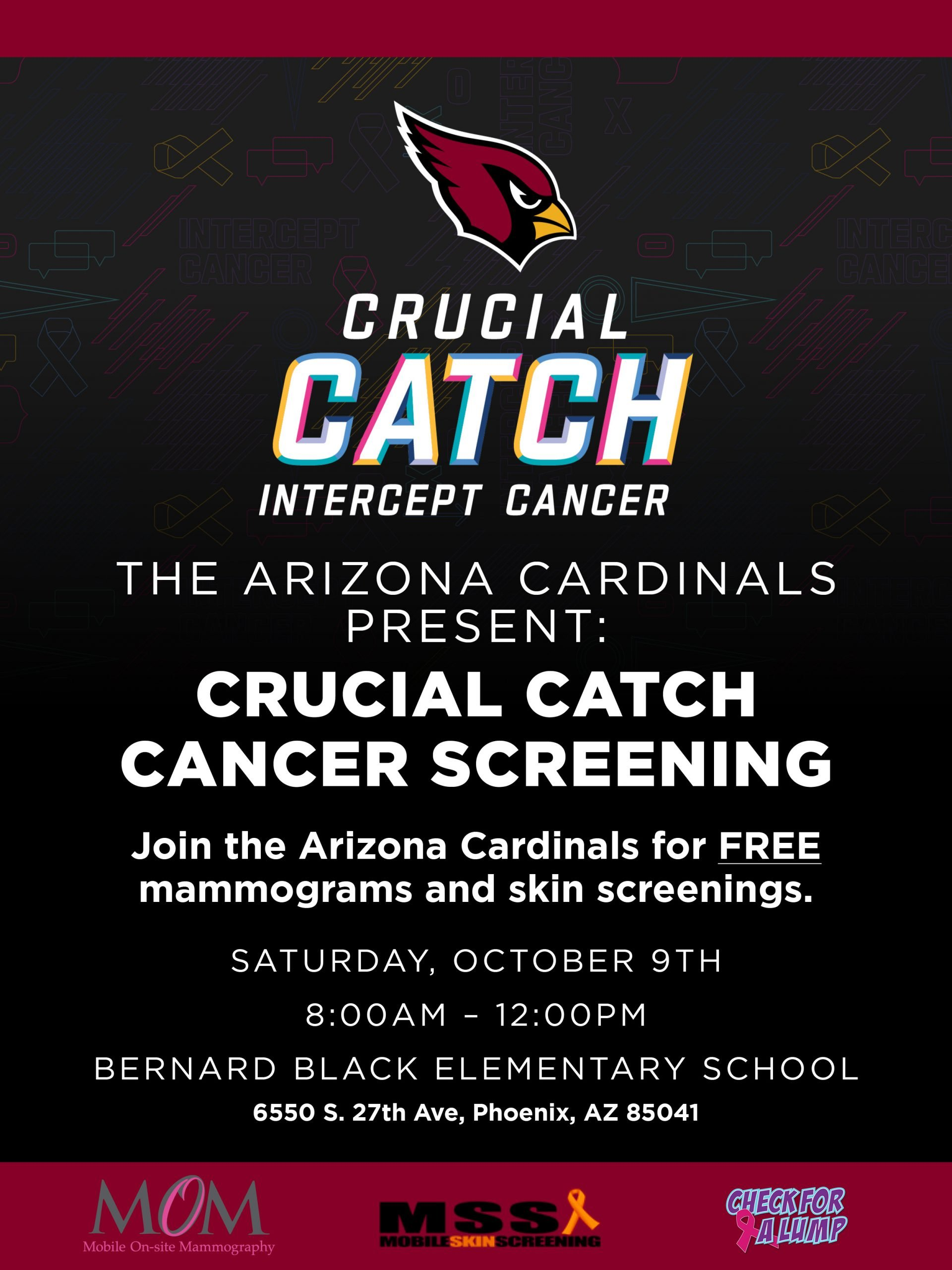 Arizona Cardinals Crucial Catch Flyer