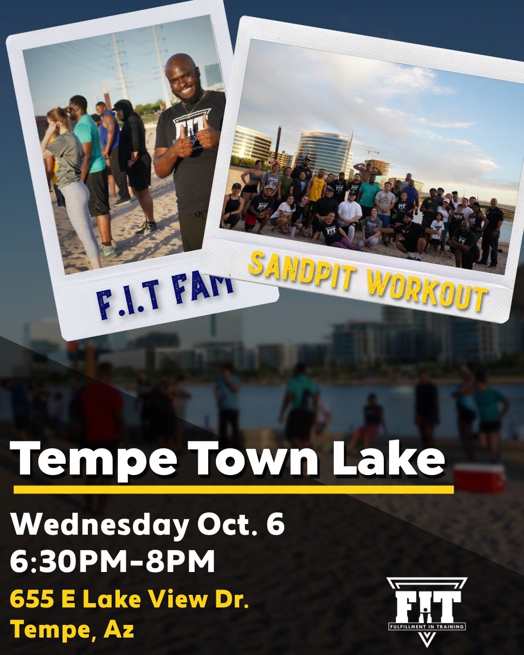 Tempe Town Lake October 6th